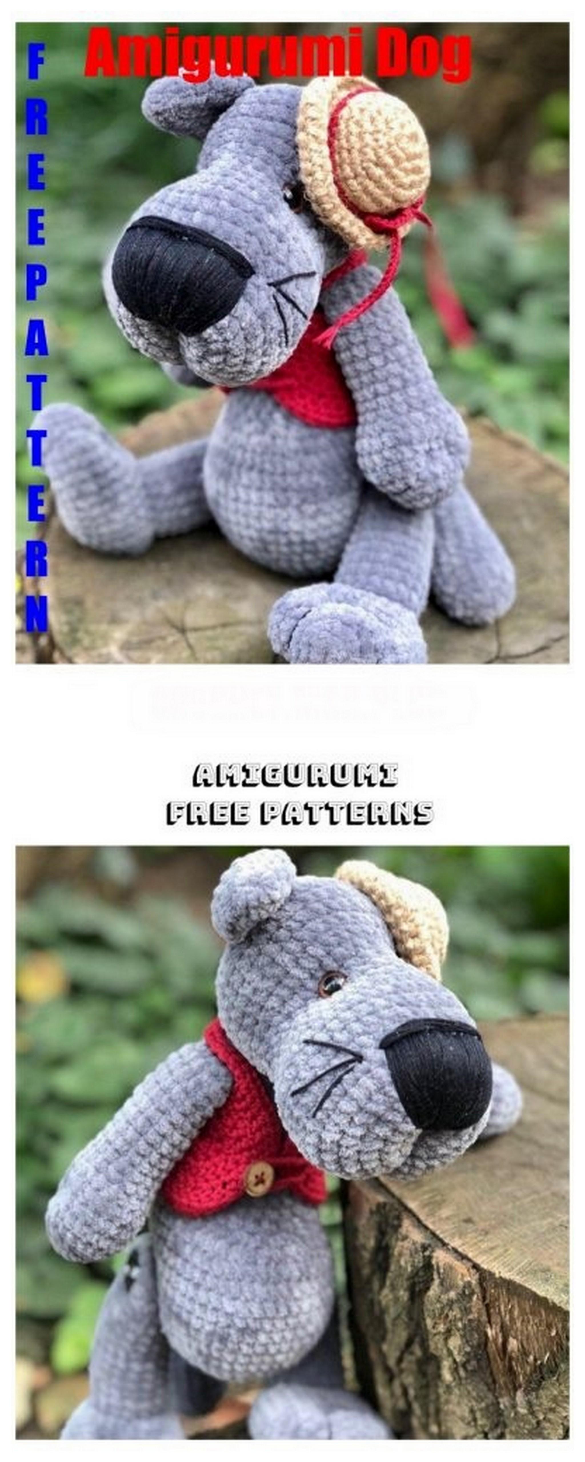 Amigurumi Hello Kitty Free Crochet Pattern - Crochet.msa.plus | 5120x2048