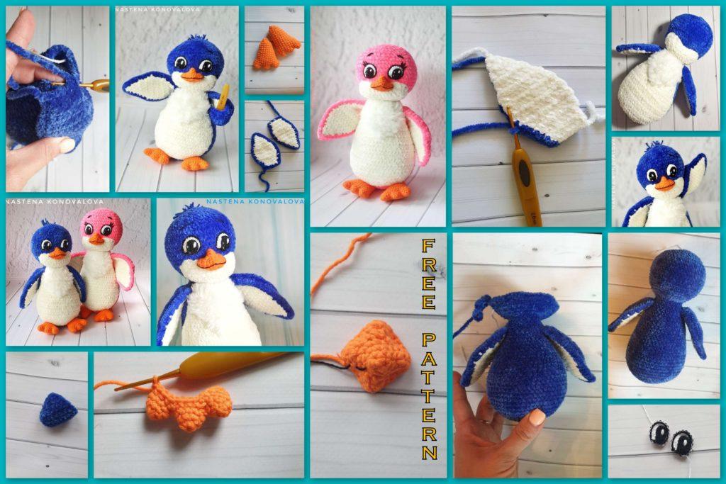 Cute Penguin Amigurumi Free Crochet Pattern