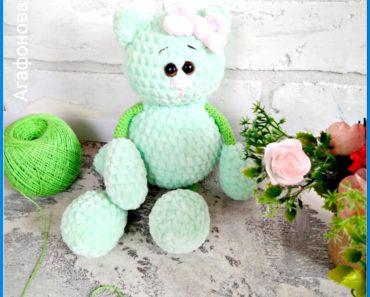 Amigurumi Velvet Cat Free Crochet Pattern