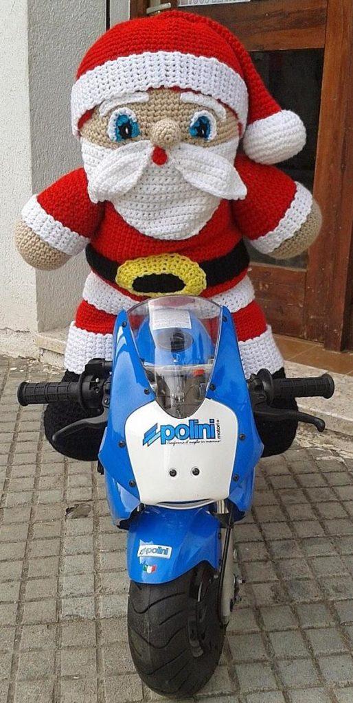 Amigurumi Big Santa Claus Free Crochet Pattern