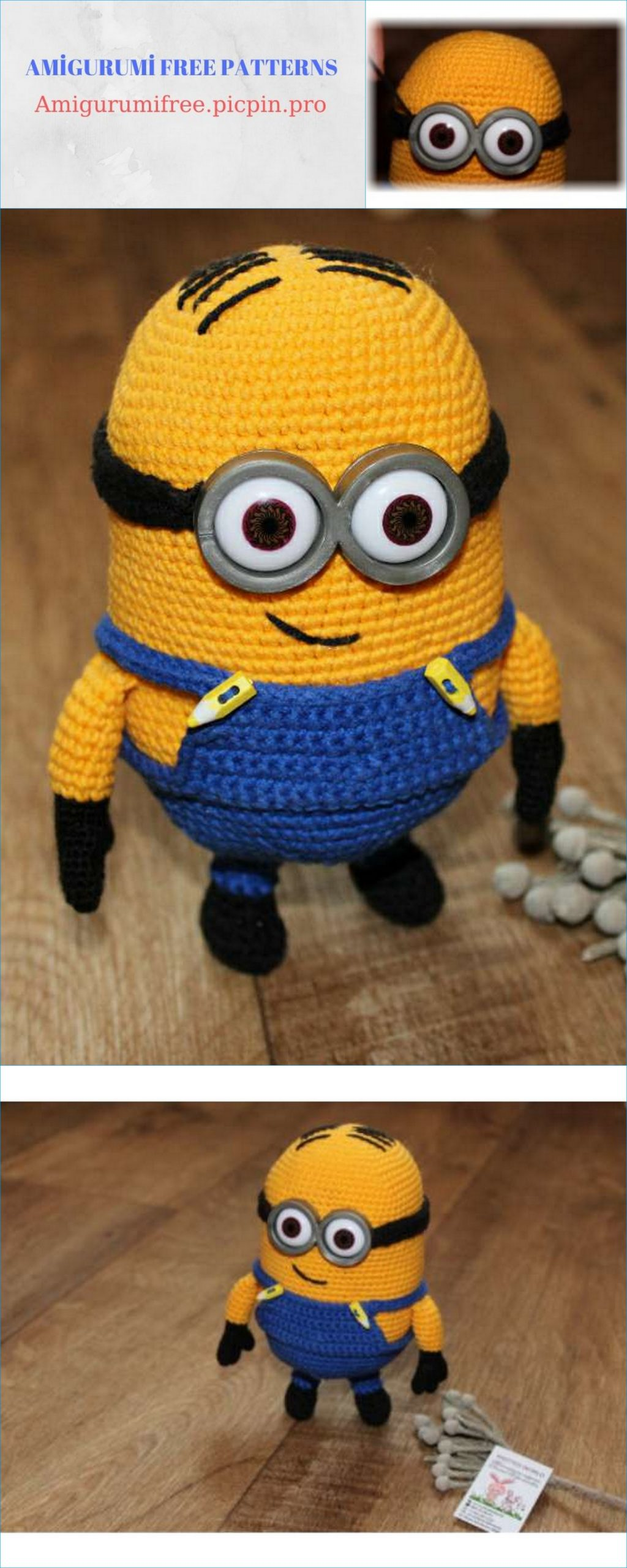 Minion Free Crochet Pattern Collection Ideas You'll Love ... | 2560x1024