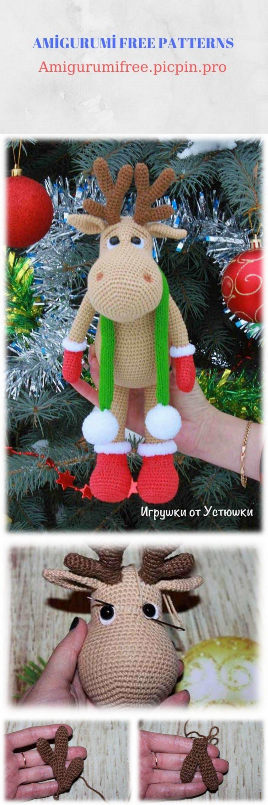 Amigurumi Ruby & Rudolph the Reindeer Crochet Free Pattern ...   2560x854
