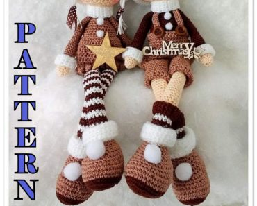 Crochet an Elf – 20 free patterns – Grandmother's Pattern Book   297x370