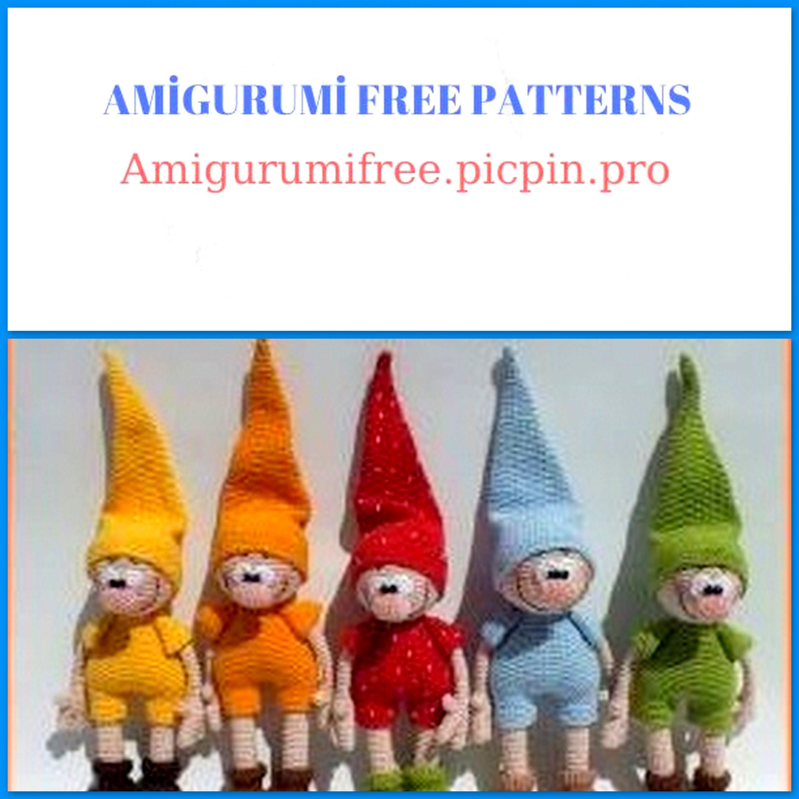 Christmas Gnome – Amigurumi Crochet Pattern | | 2560x2560
